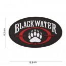 Nášivka BLACKWATER žoldák 3D (velcro)