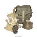 Plynová maska polské armády typ MC-1, použitá