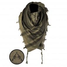 Šátek bojový Shamag - se zbraněmi M16