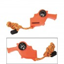 Píšťalka záchranná 4v1 Orange