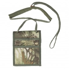 Peněženka cestovatelská - na krk, MANDRA WOOD. camo