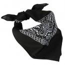 Šátek Western BANDANA , černý, 53 x 53 cm
