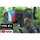 100 Kč - Podpora YouTube tvorby Daga