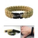Žoldácký / PARA náramek 22m COYOTE (Paracord Bracelet)