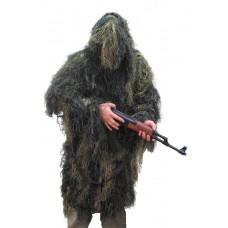 Maskovací parka pro odstřelovače Ghillie Anti-Fire (hejkal) WOODLAND