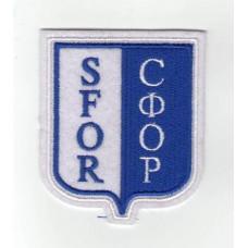 Nášivka SFOR modrá