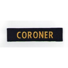 Nášivka CORONER