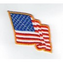 Nášivka Vlajka US (vlající)