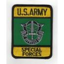 Bojová nášivka Special Forces zeleno-žlutá