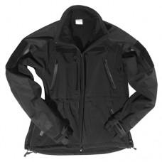 Bojová bunda Softshell MIL-TEC Plus BLACK