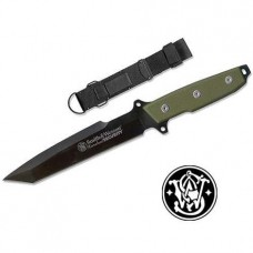Nůž Homeland Security Survival GREEN, Smith & Wesson