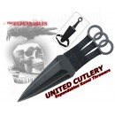 Velké vrhací nože Expendables Kunai - sada 3 ks
