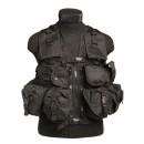 Bojová taktická vesta COMBAT, Black