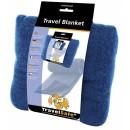 Cestovní fleeceová deka Travel Blanket - modrá