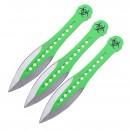 Vrhací nože Z-HUNTER Green - sada 3 ks