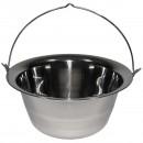 Kotlík na guláš, 22 litrů, nerez ocel