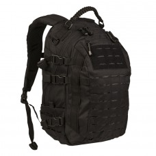Batoh MISSION LASER CUT 25l, Black
