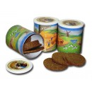 12ks - Trvanlivý chléb v konzervě 500g, celozrnný, žitný