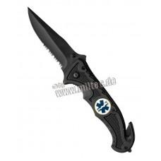 Zavírací nůž RESCUE black