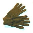 Vojenské rukavice pletené