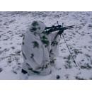 Pončo maskovací - sněžné