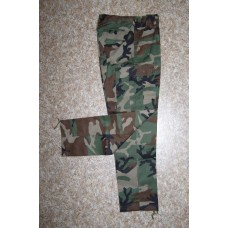 Kalhoty BDU - maskovací woodland
