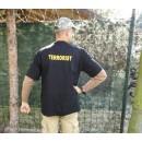 Triko TERRORIST černé, (nápis 215mm)