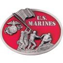 US opasková přezka, motiv US Marines
