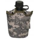 US polní láhev s obalem maskovací AT-DIGITAL
