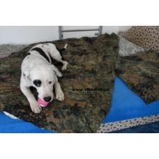 Flecktarn Vojenské povlečení na postel