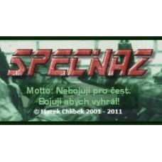 Voucher SPECNAZ.CZ - 100Kč